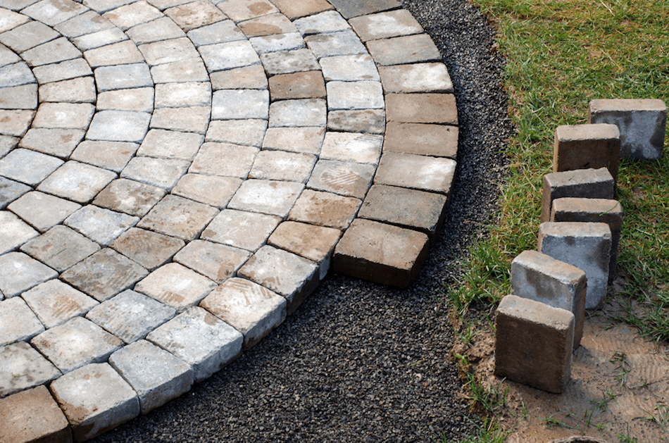paver and installation